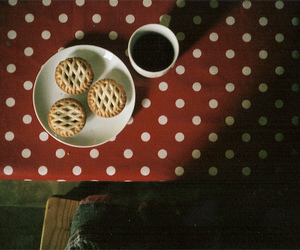vintage, coffee, and Cookies image