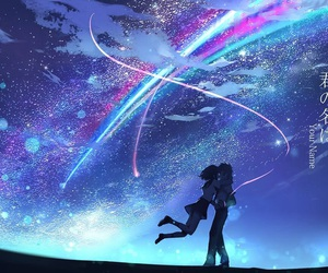 anime, your name, and movie image
