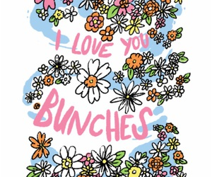 flowers, love, and bunches image