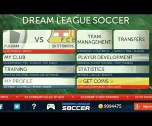 dream league soccer hack, dream league soccer, and dream league soccer apk image