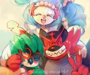 pokemon, sun and moon, and decidueye image