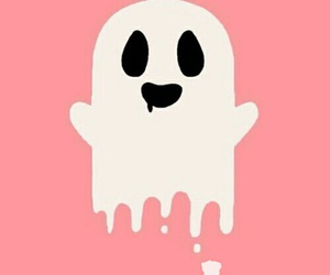 Halloween, white ghost, and october image