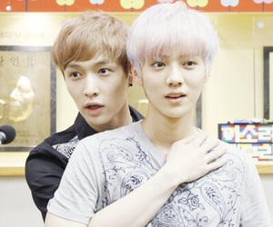 exo, lay, and luhan image