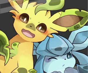 eevee, phone, and pokemon image