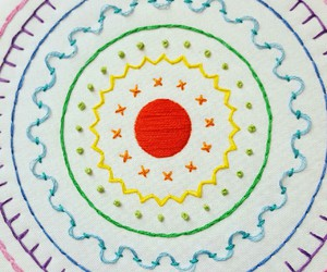 embroidery, hoop art, and embroidery kit image