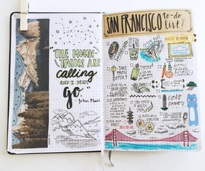 book, journal, and inspiration image