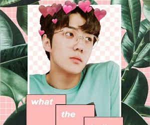 aesthetic, edit, and exo image