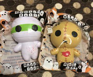 doll, Halloween, and mummy image