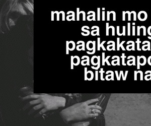 filipino, heartache, and love image
