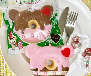 christmas, donut, and squishy image