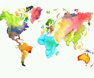 art, colour, and world image