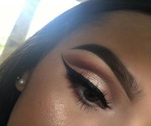 beauty, eye, and eyebrow image