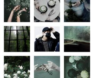 green, moodboard, and taehyung image