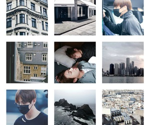 aesthetic, moodboard, and bts image