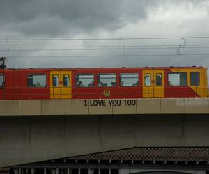 love, train, and grunge image