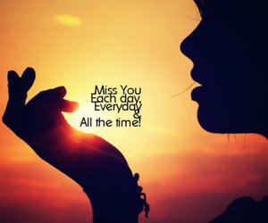 miss you, miss, and quote image