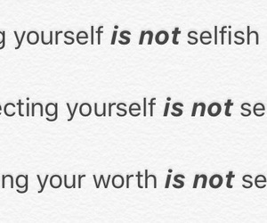 worth, loveyourself, and respectyourself image