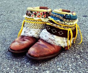boots, pretty, and shoes image
