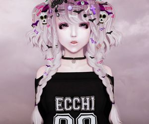 adorable and pastelgoth image