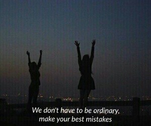 girls, ordinary, and quote image