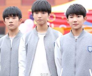 yuan, tfboys, and qianxi image