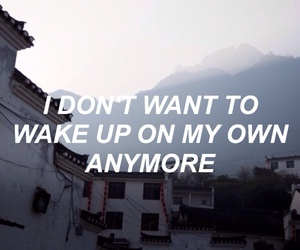 quote, grunge, and asleep image