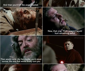 cain, dean winchester, and sam winchester image