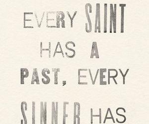 quotes, saint, and sinner image