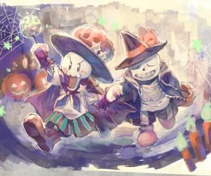 Halloween, kawaii, and sans image