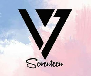 Logo, Seventeen, and carat image