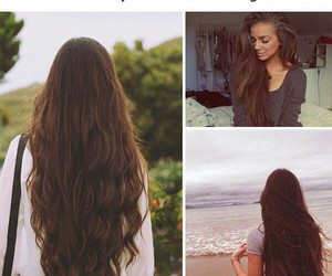 beautiful, hair, and love it image