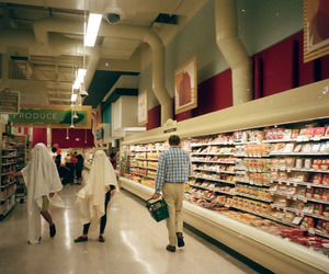 ghost and grocery store image
