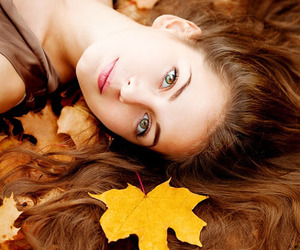 autumn, beauty, and fall image