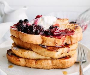 food, breakfast, and pancakes image