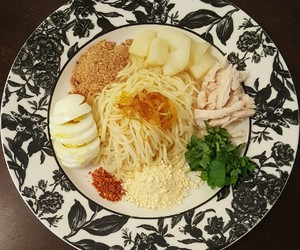 asian, healthy, and noodles image