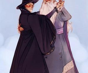 harry potter, albus dumbledore, and minerva mcgonagall image