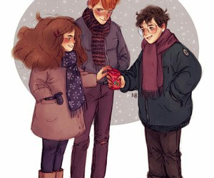 harry potter, book, and hermione granger image