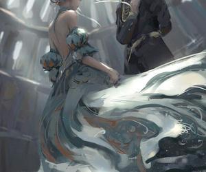 art, anime, and dance image