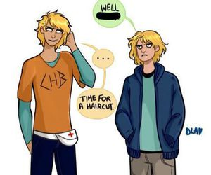 percy jackson, jason grace, and will solace image