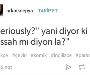 tumblr, komik, and sözler image