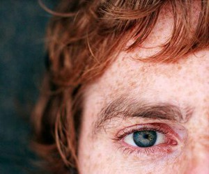 eyes, boy, and freckles image