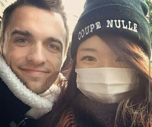 marie, youtube, and squeezie image