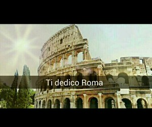 colosseo, italy, and roma image