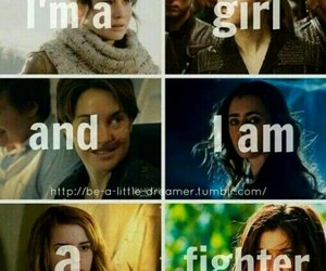 fighter, divergent, and harry potter image