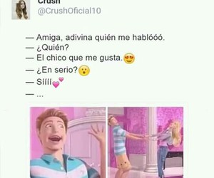 amigas, barbie, and crush image
