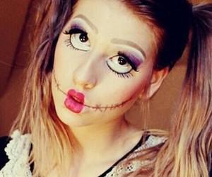 makeup, doll, and girl image