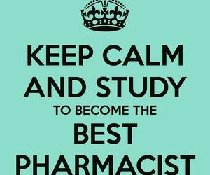 english, keep calm, and study image