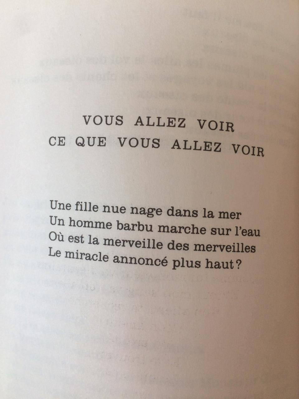Poème De Jacques Prévert Issue Du Recueil Paroles