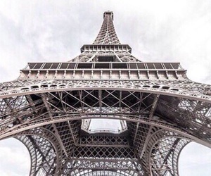 paris, eiffel tower, and travel image