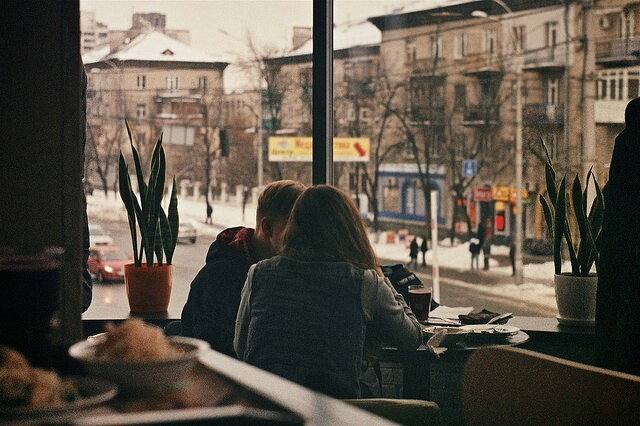 cafe, cosy, and vintage image